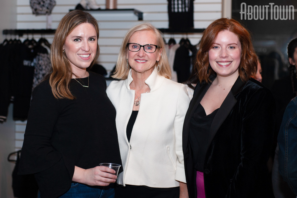 Janet Matheson, Trish Hill, Jess Conger