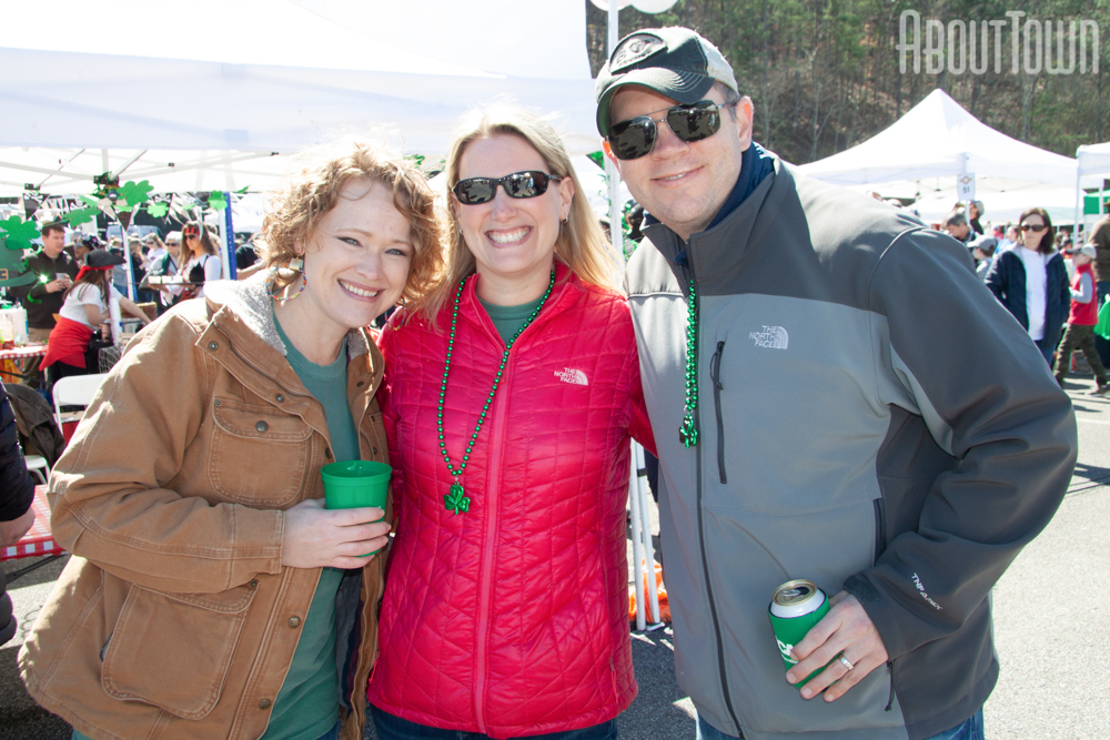 Laura Brown, Leslie and Aaron Bauck