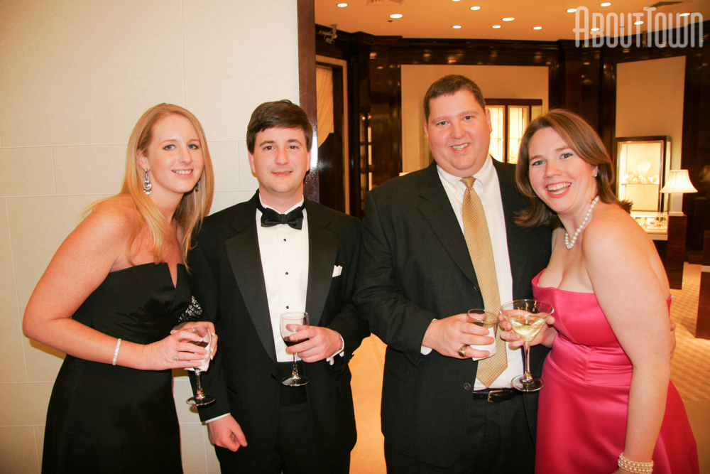 Beth Bennetto, Kevin Turner, Corey and Ann Hall
