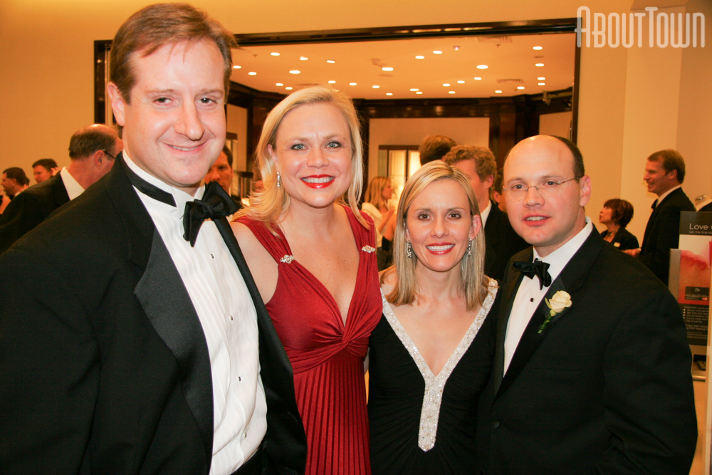 Wade and Kelly Byron, Amy and Jim Maziarz