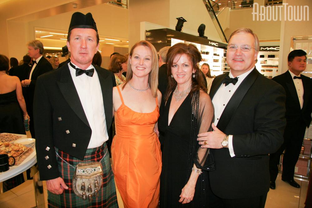 John and Tracy McDermott, Sandy and Crosby Taylor