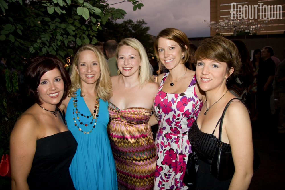 Mandy Cox, Julie Farrell, Robin White, Lacey Bacchus, Amy Brooks