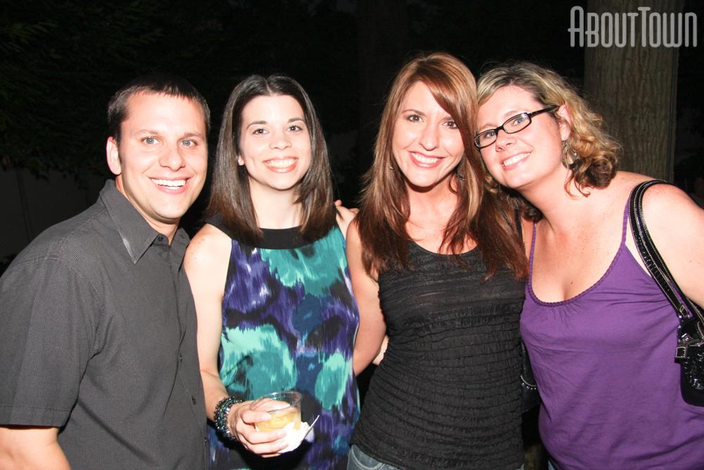 Jason and Julie Peterman, Paulett Palmieri, Tracy Robinson