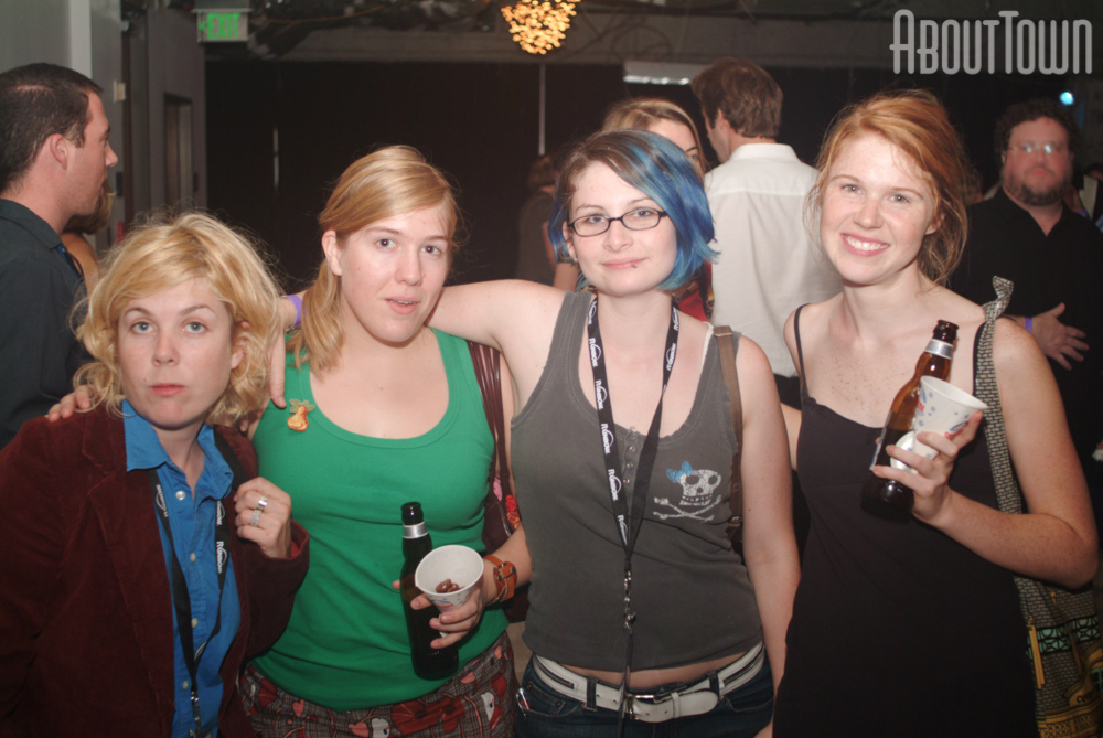 Rachel Morgan, Lisa Easterling, Ali Clark, Mary Eleanor Wallace