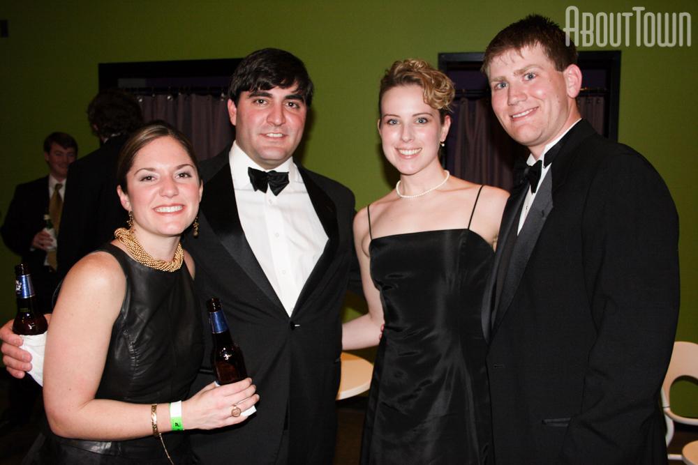 Melanie and Michael Pounds, Ashley Canning, Timothy Calise