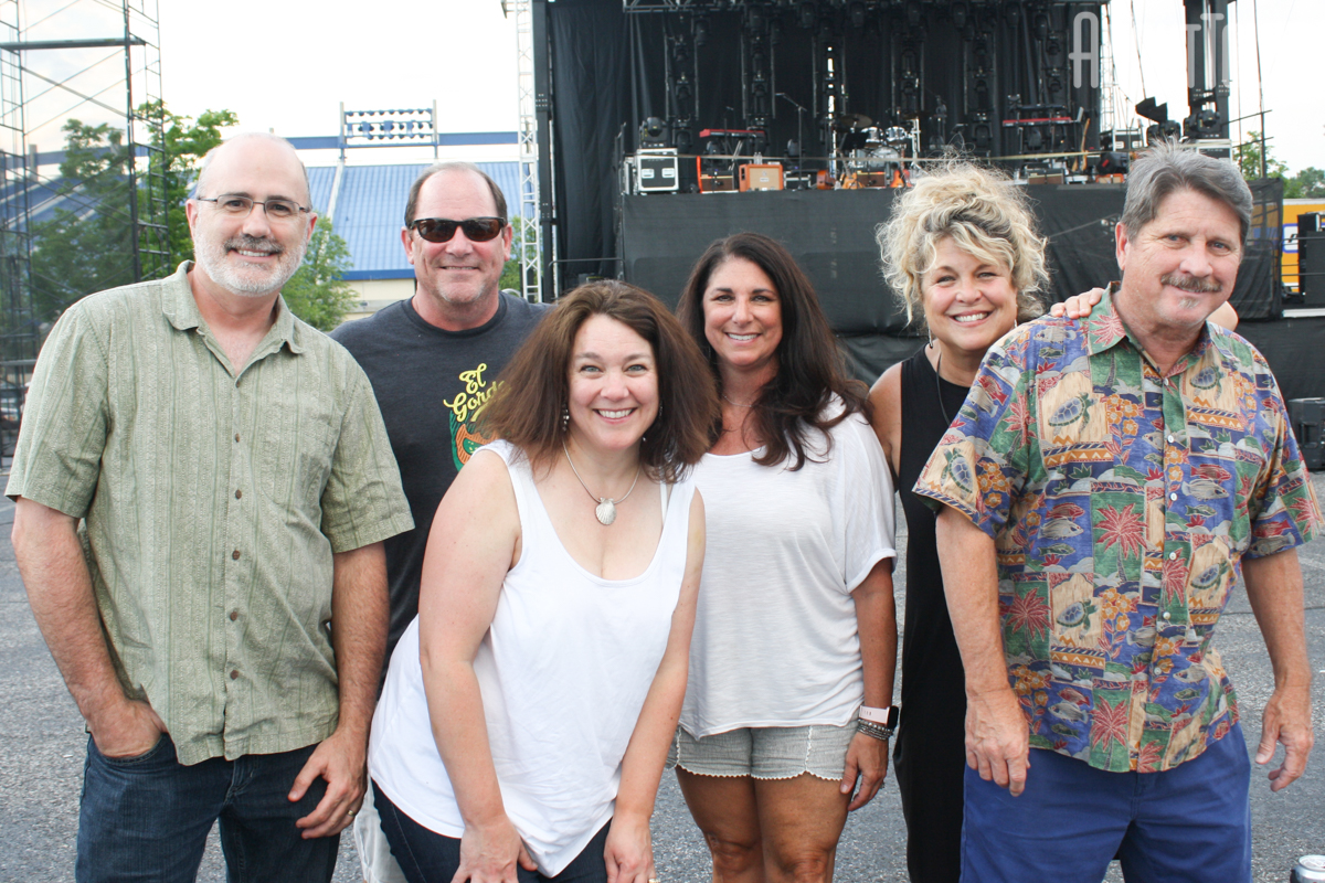 Chip Vice, John and Kirstin Ahearn, Mary Vice, Melanie and Bill Perry