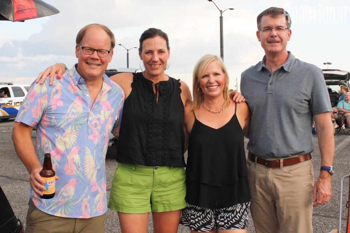 Davies and Jen Hood, Wendy and Rhett Clark
