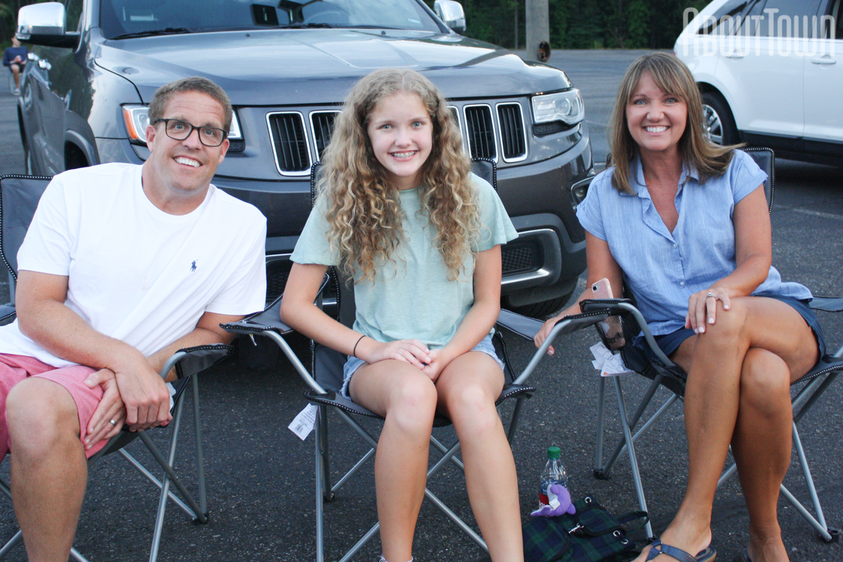 Josh, Lucy and Lisa Tarp