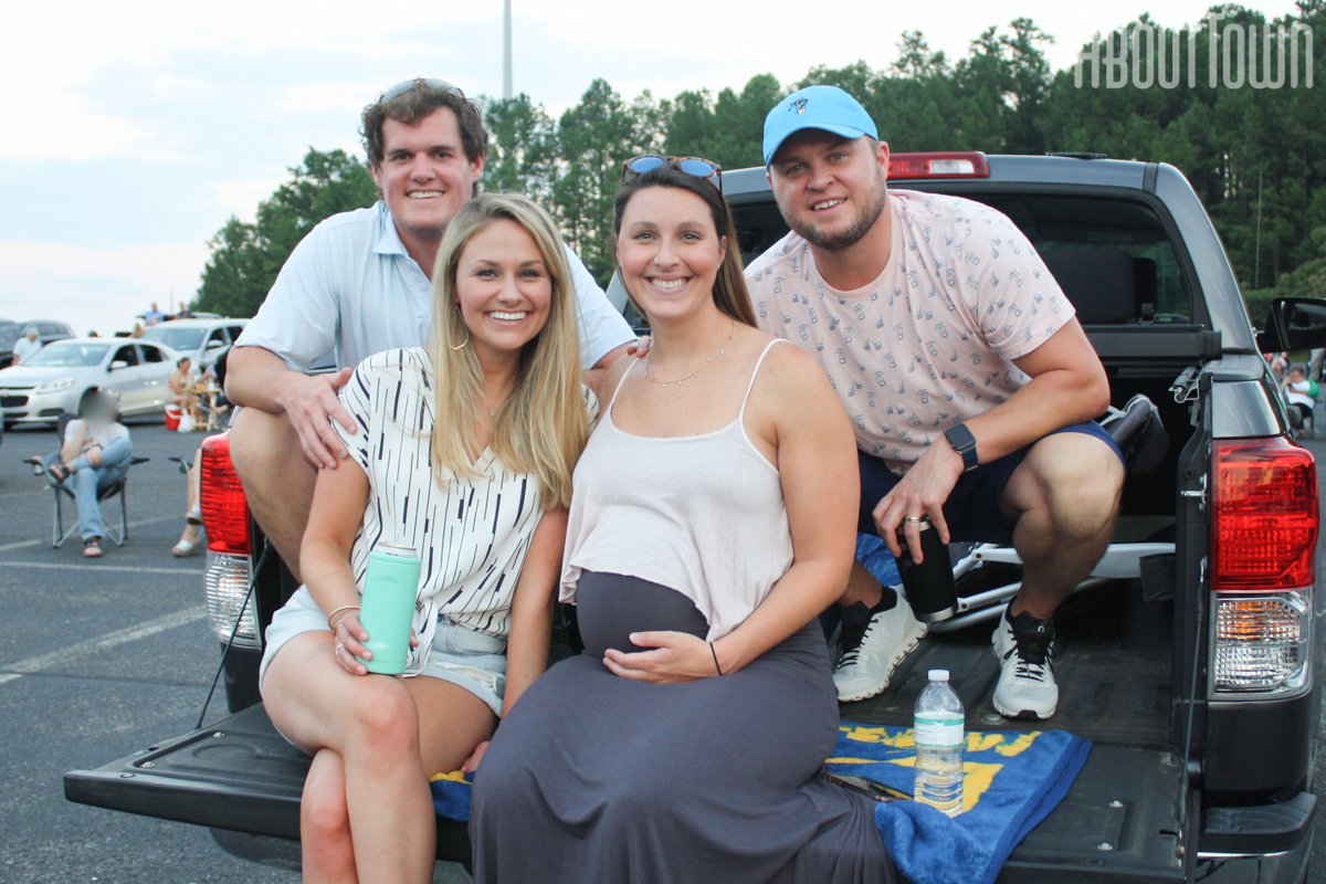 Evan and Courtney Pierce, Katie and Shane Smith