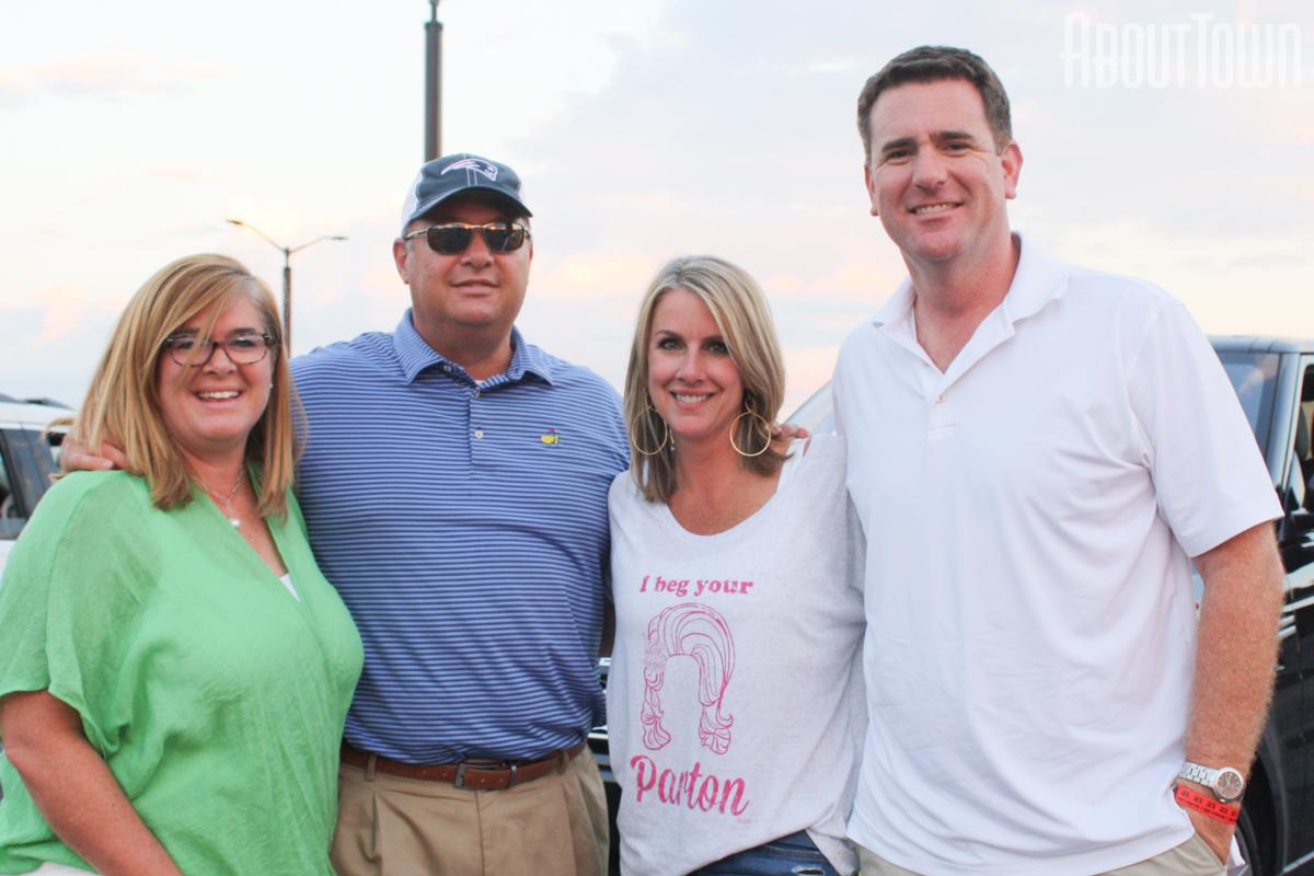 Holly and Miles Waller, Joanna and Garrett Goodman