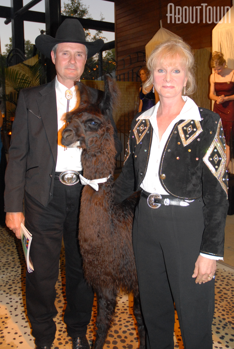 Cathy and Dale Peterson, Alpaca