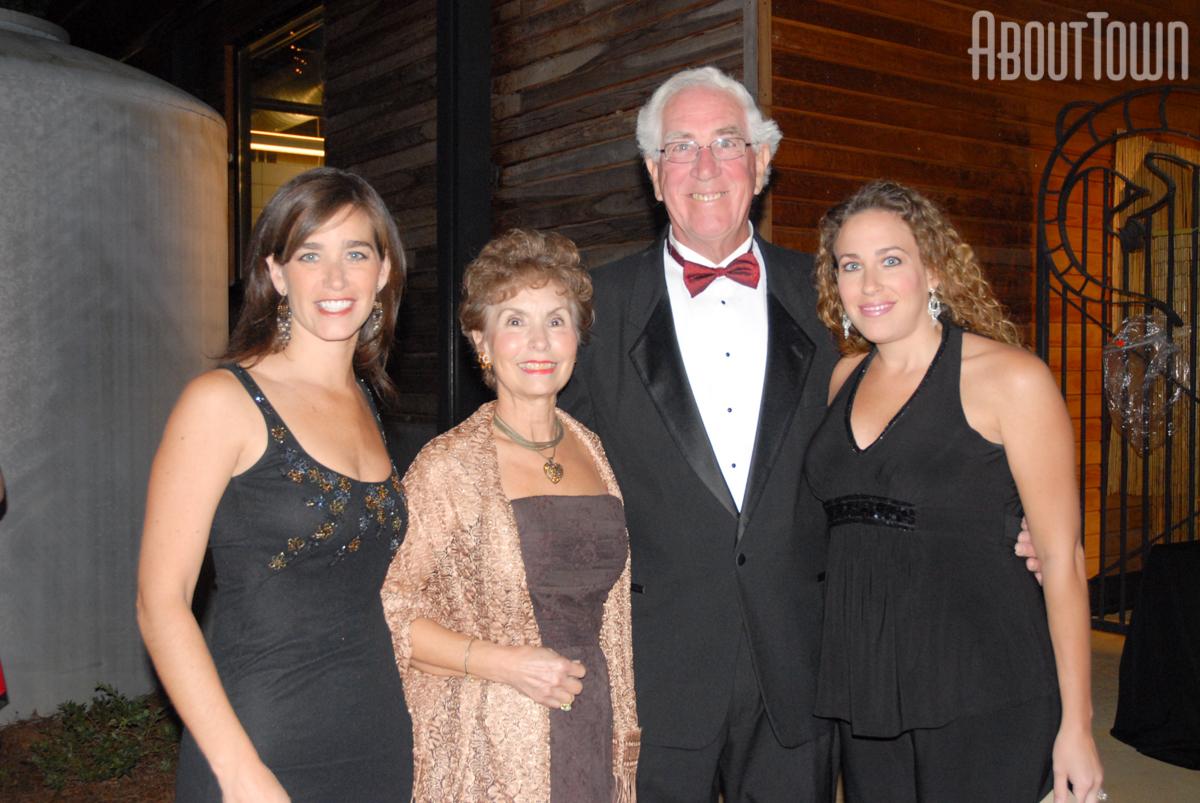 Larry and Joan Norred, Laura Norred, Julie Elliott