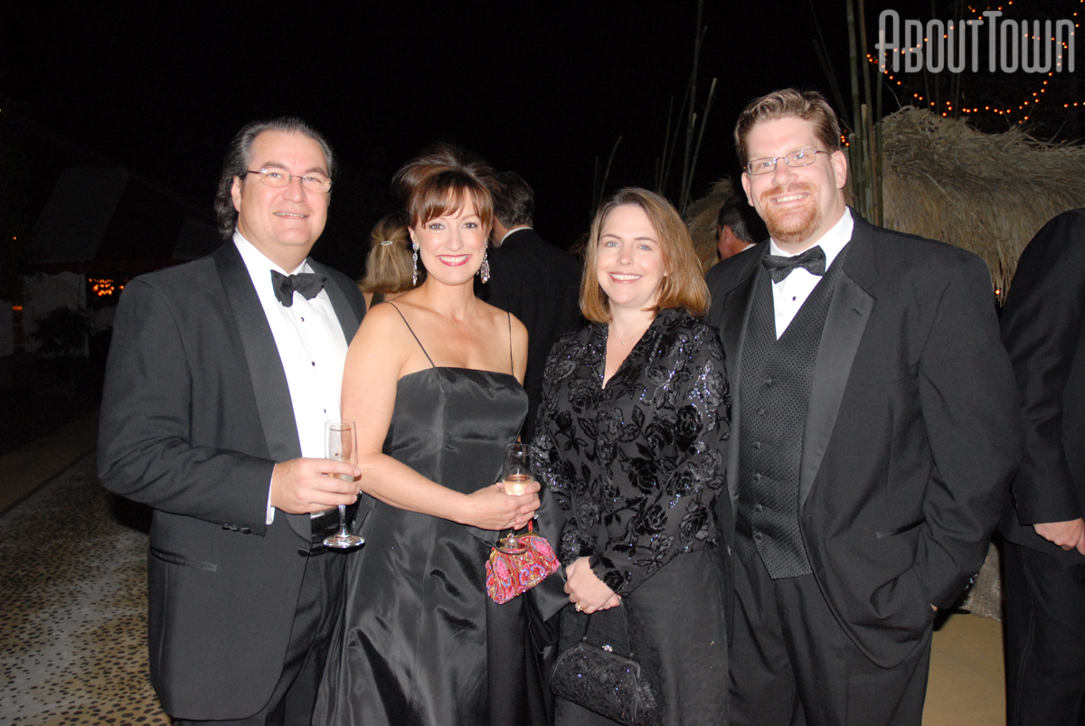 Cecil and Debra Long, Carrie and Chris Allemand