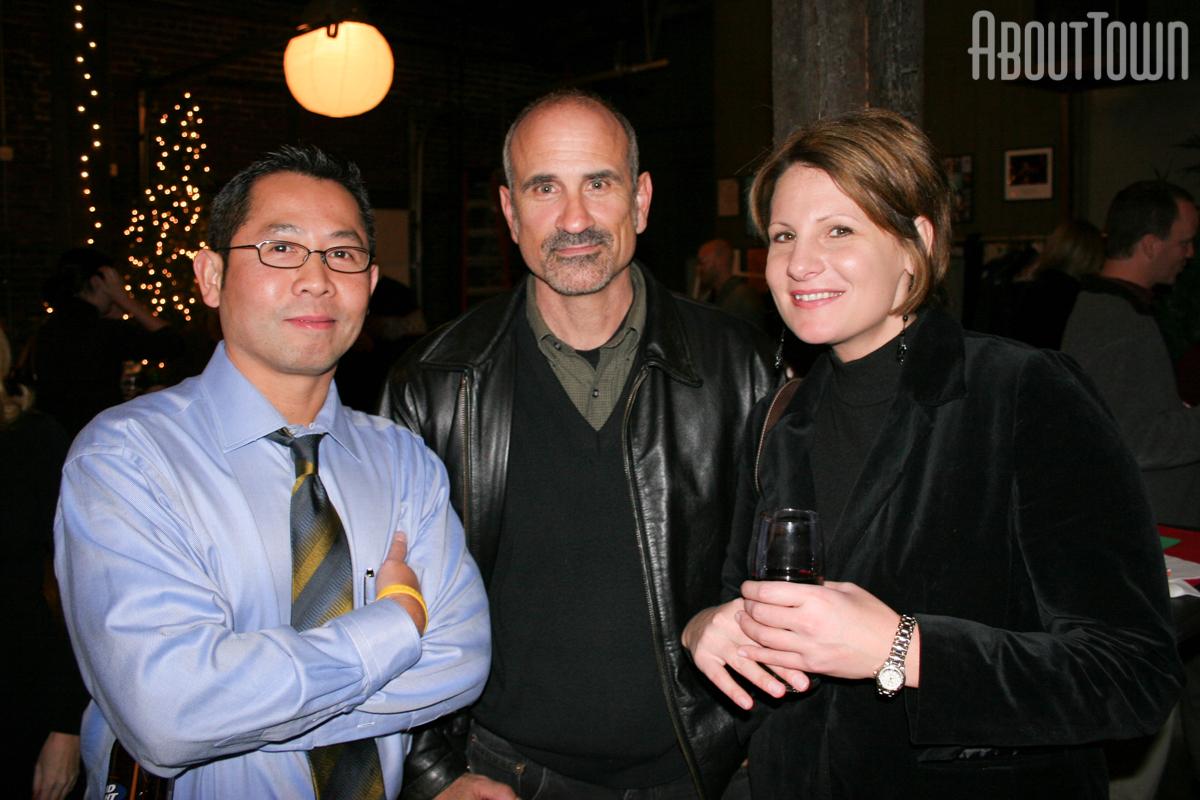 John Phan, Bernard Troncale, Julie Stark