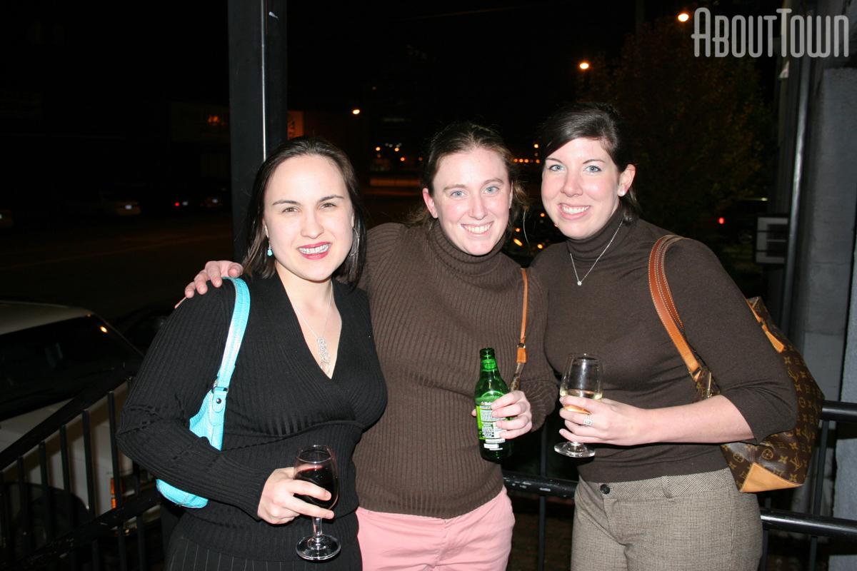 Virginia Langum, Catherine Chambers, Lauren Petty