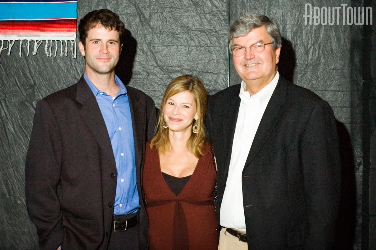 Steve and Andrea Dapkus, Dr. Edward Partridge