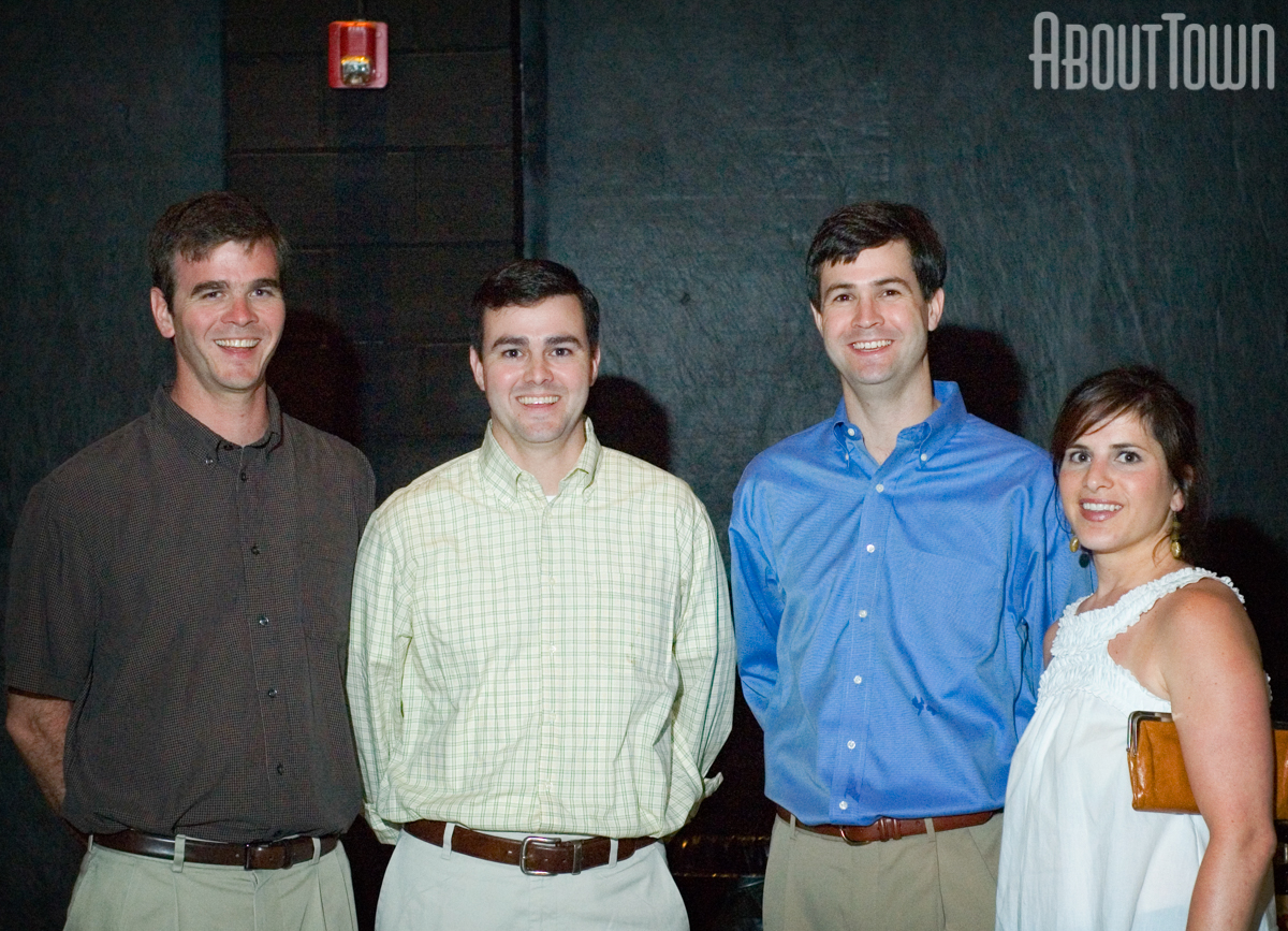 Jeff McDonald, John McDonald, Hurston and Shannon Raley
