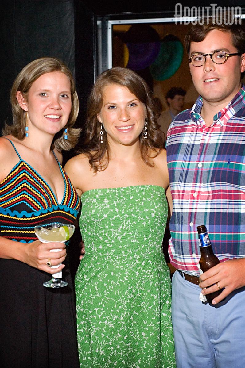 Betts Johnson, Marchelle and Peter Falkner