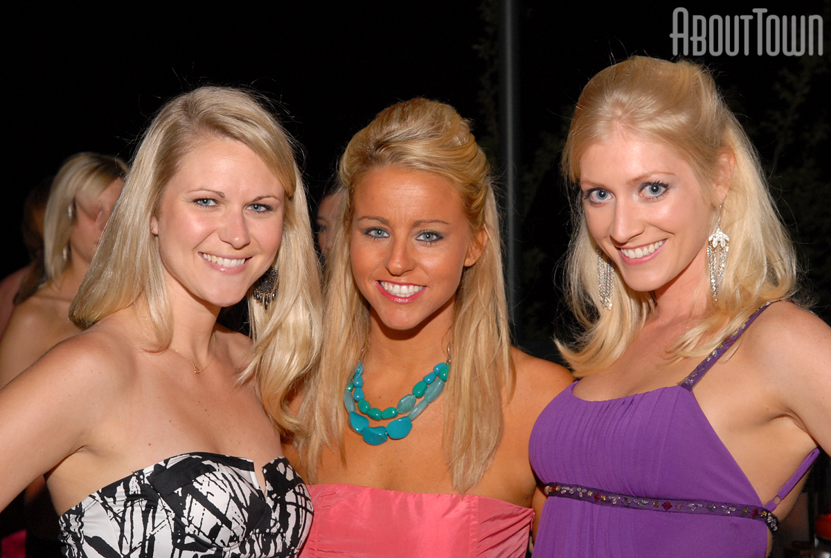 Sami Strange, Rebecca Lee and Sarah Benton