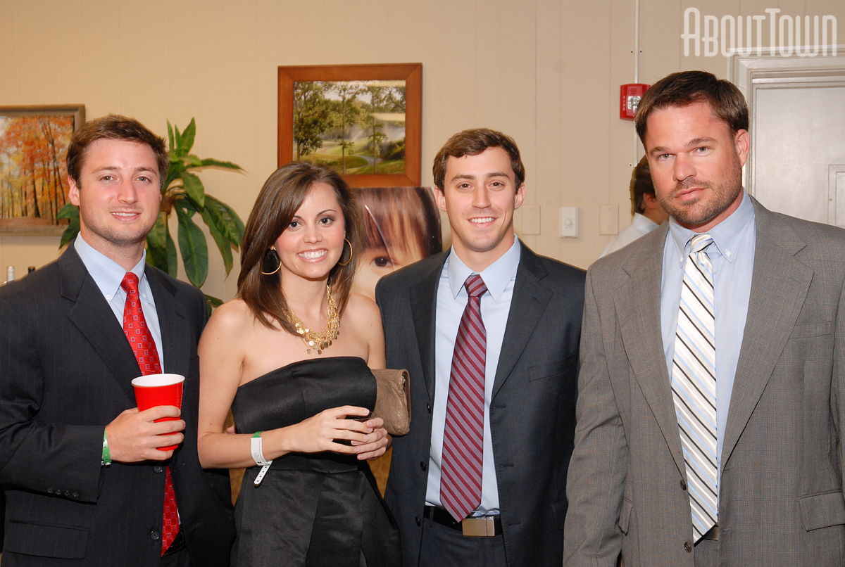Adam Baxter, Alexis Dollar, Allen Heaton and J. T. Daffron IV
