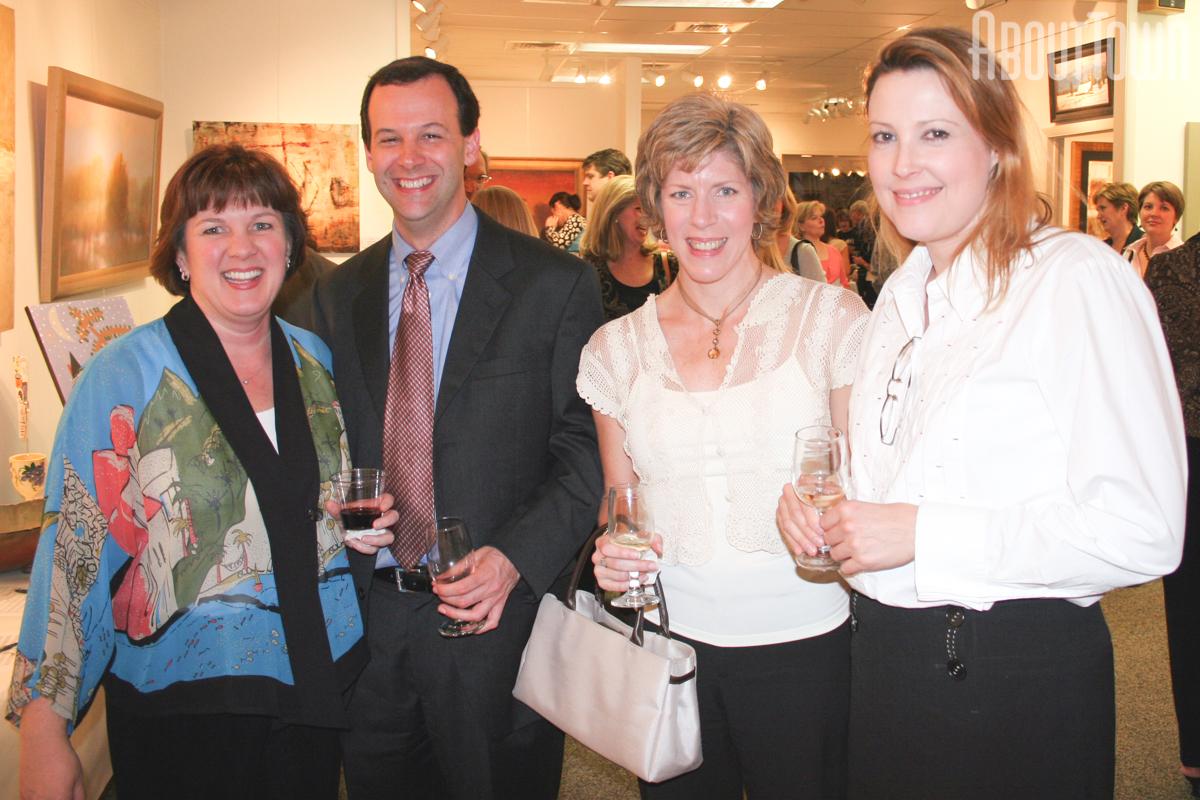 Karen Willette, John Eubank, Laura Newton, Virginia Young