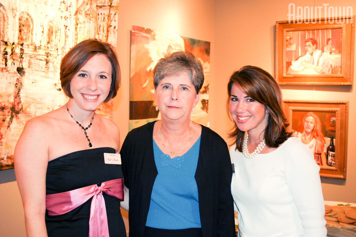 Cindy Abercrombie, Carol Dear, Wendy Garner