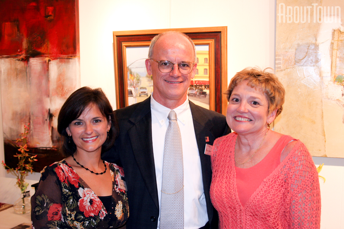 Mary Beth Thomas, David and Linda Lou Barber