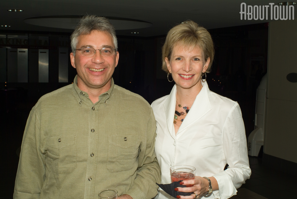 Steve and Caroline Reich