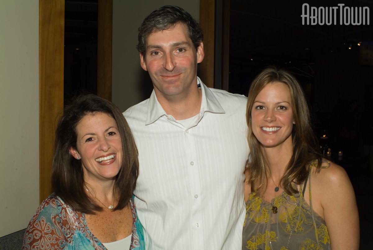 Jodi and David Benck, Jill Cain