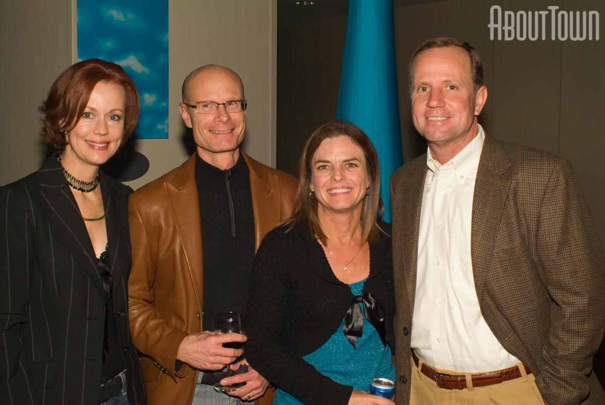 Virgina and George Jones, Lauri and Randy Jordan