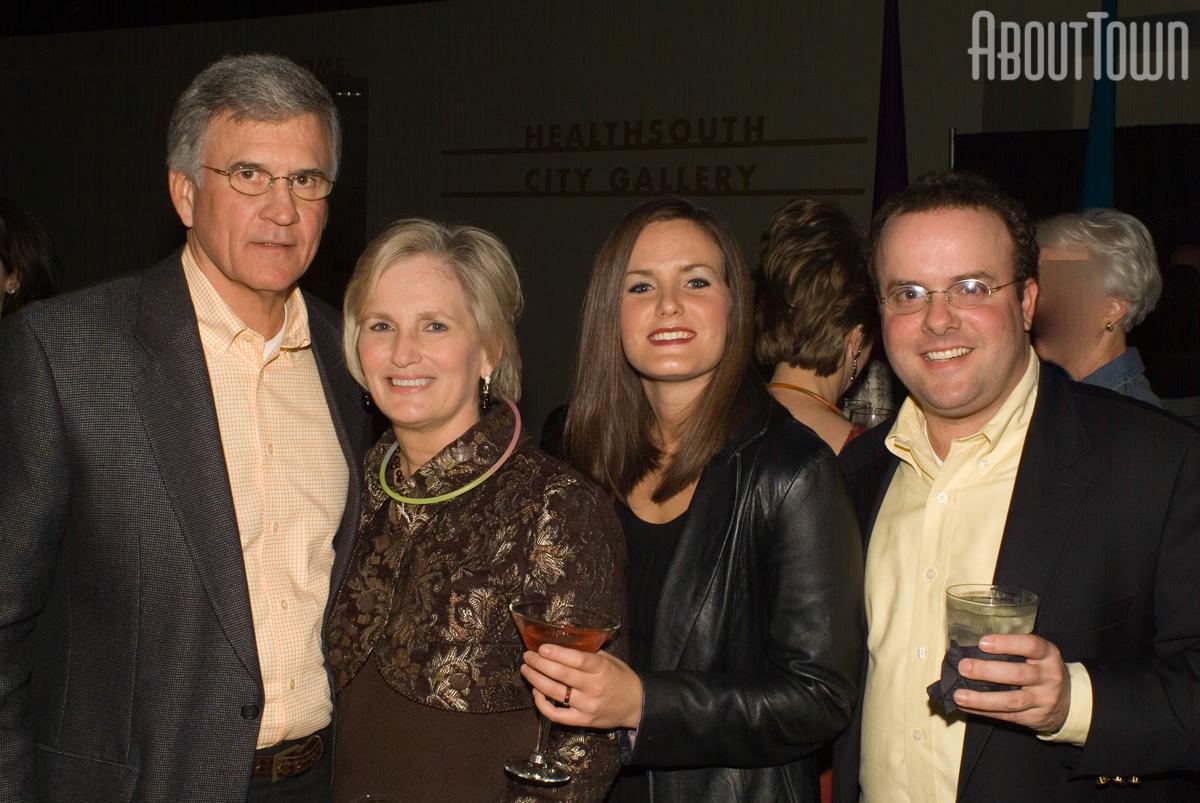 Bill and Elsie Cothran, Emily Rudder, Emily and Joe Medori
