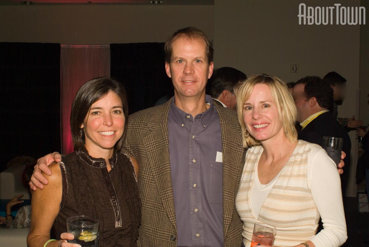 Susan Waggoner, John and Tracey Gardner