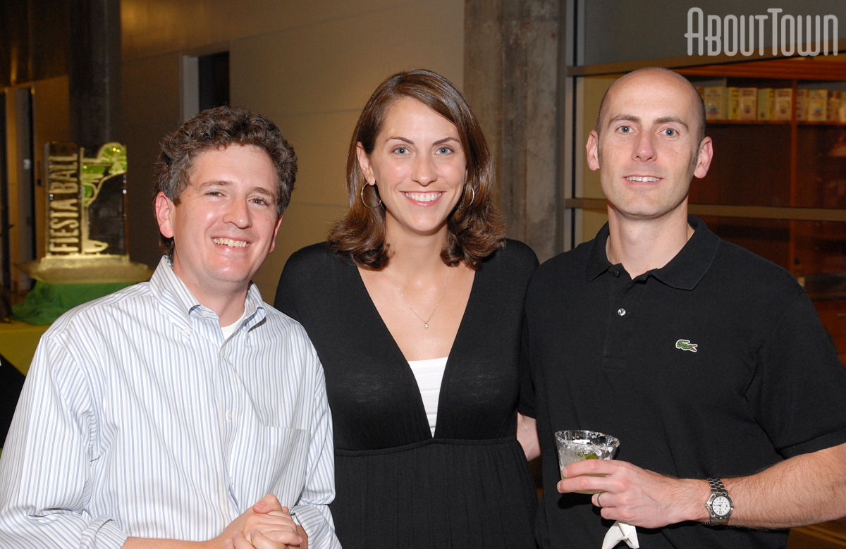 Mike Goodrich, Rhonda and Jason Nabors