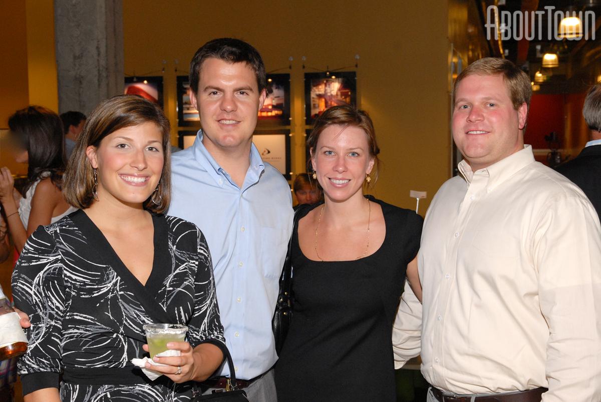 Lauren and Josh Baker, Allison Garton, Jonathan Wells