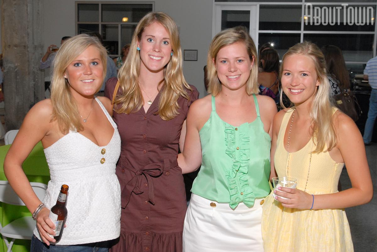 Patricia Van Pelt, Abby Waller, Riley McDuff, Katherine Baugh