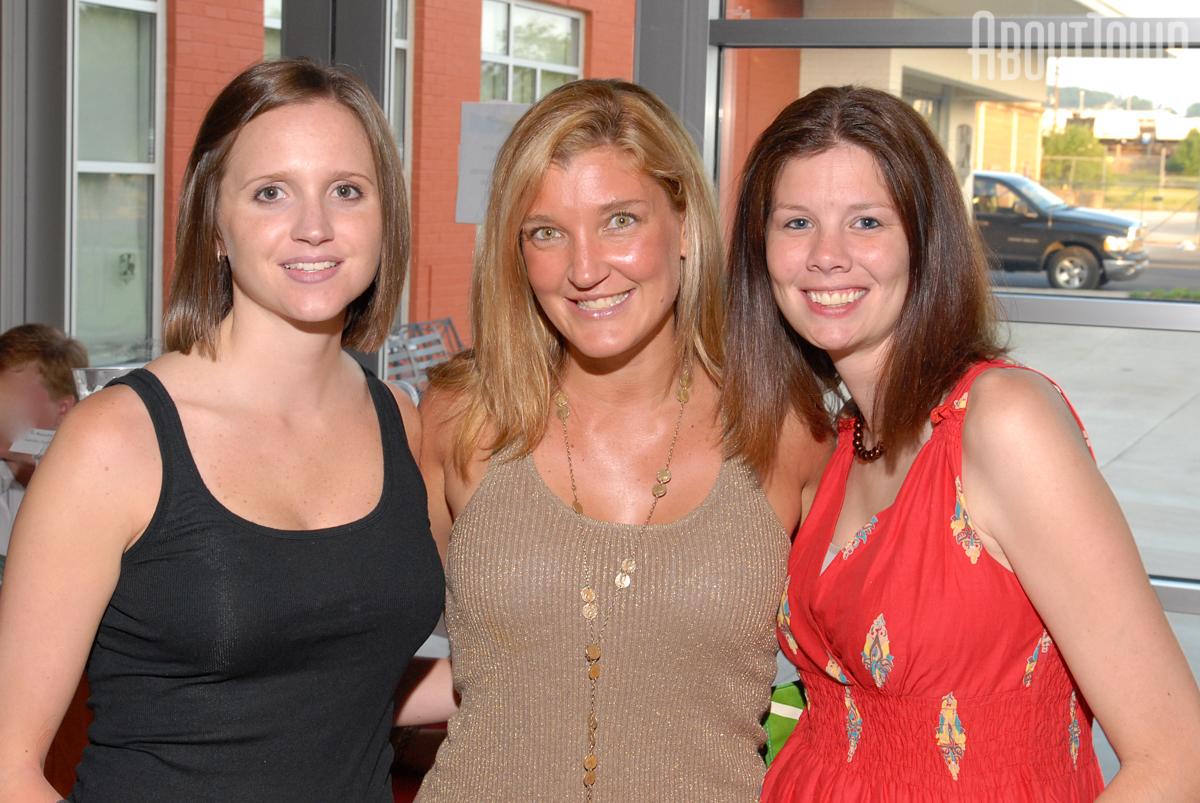 Ashley Davis, Carrie Pittman, Mary Balfour Van Zandt