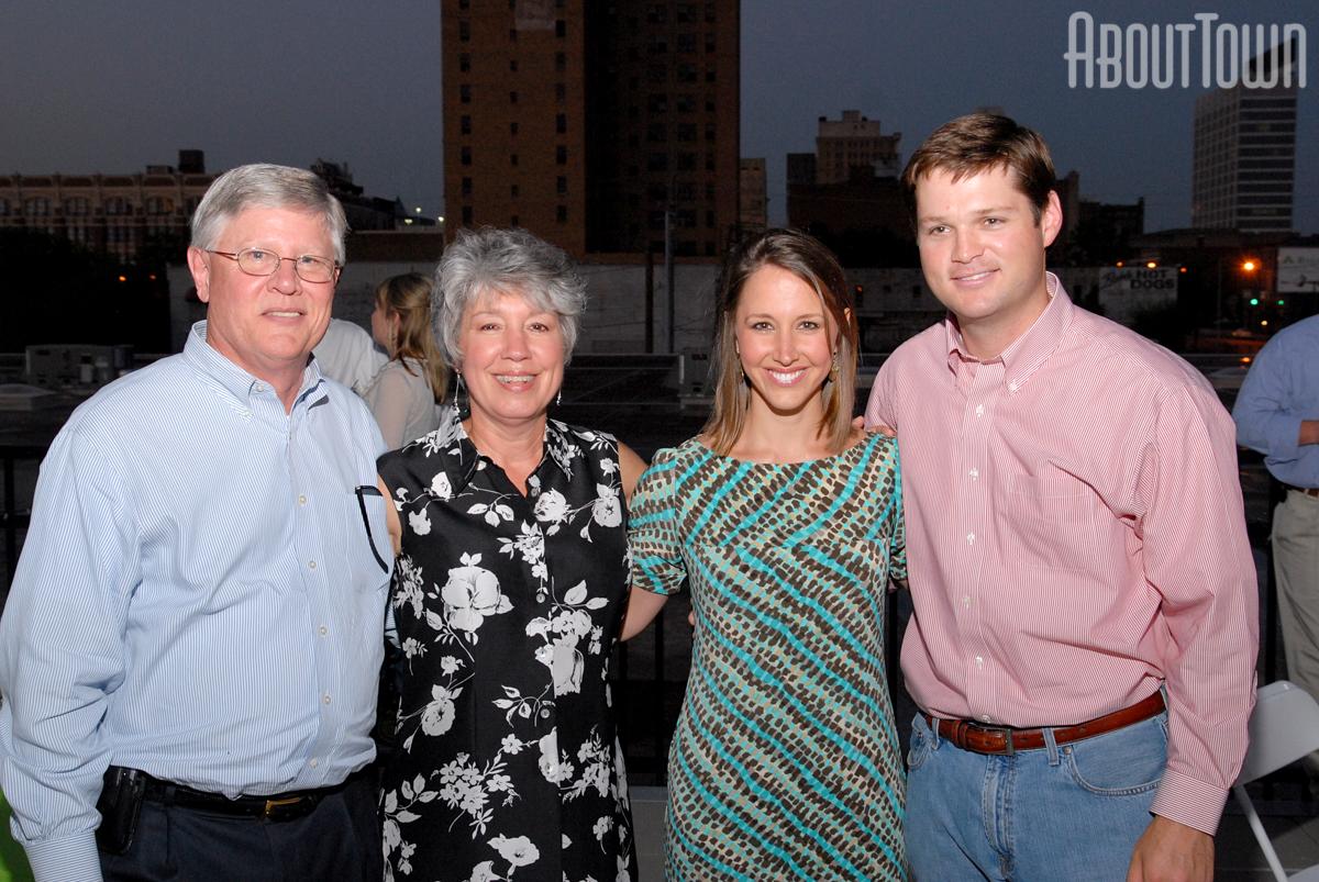 Denman and Mary Slocum, Kelsey and Austin Blair
