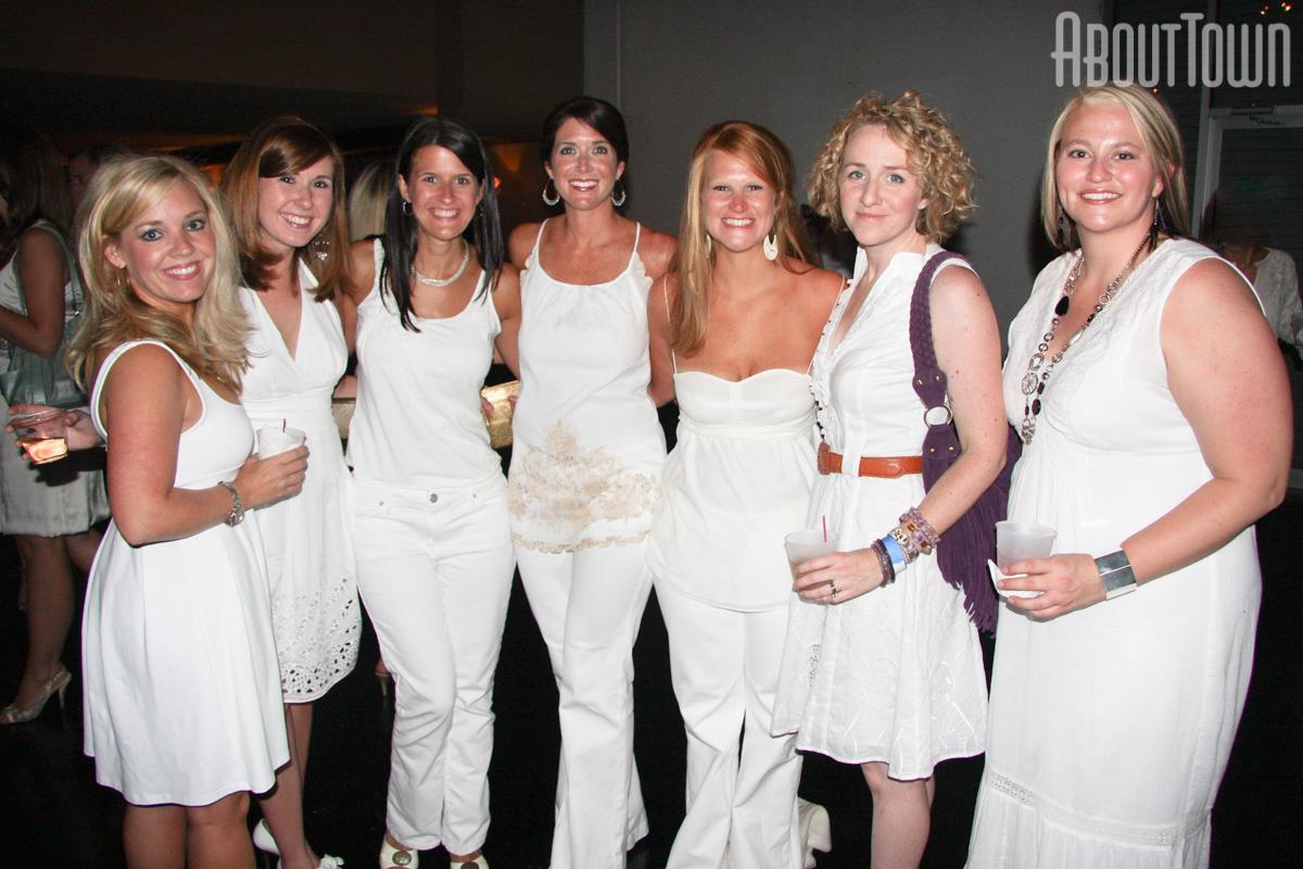 Audra Hawkins, Virginia Quigley, Jennifer Lott, Karen Champion, Ann McWilliams, Carly Collins, Karen Arthur