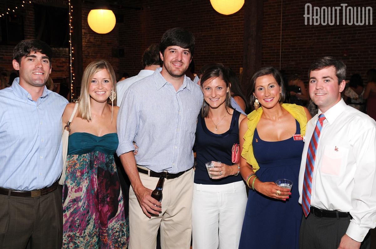 Britt and Amanda Thames, Blake and Karen Roberson, Jordan and Justin Truelove