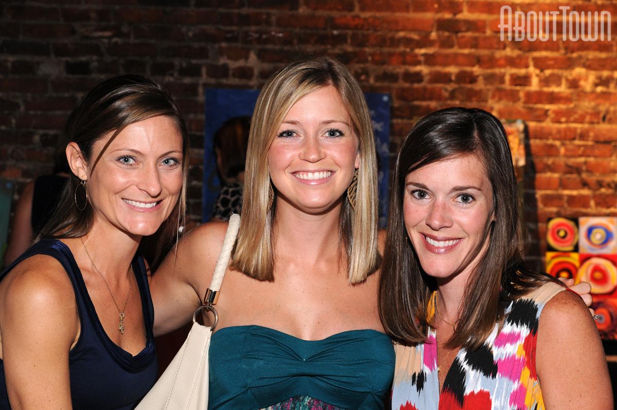 Karen Roberson, Amanda Thames, Leslie Evans