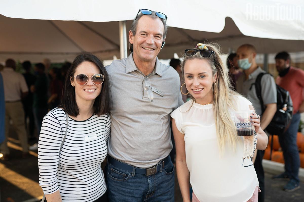 Lacey Arrington, Dave Sander, Sarah Weber