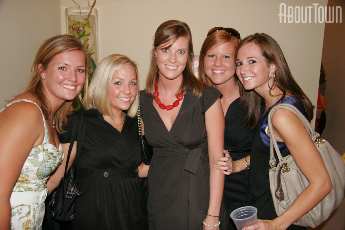 Abby Lockerby, Pam Beidleman, Bethy Dodds, Christina Knox, Alison Holmes