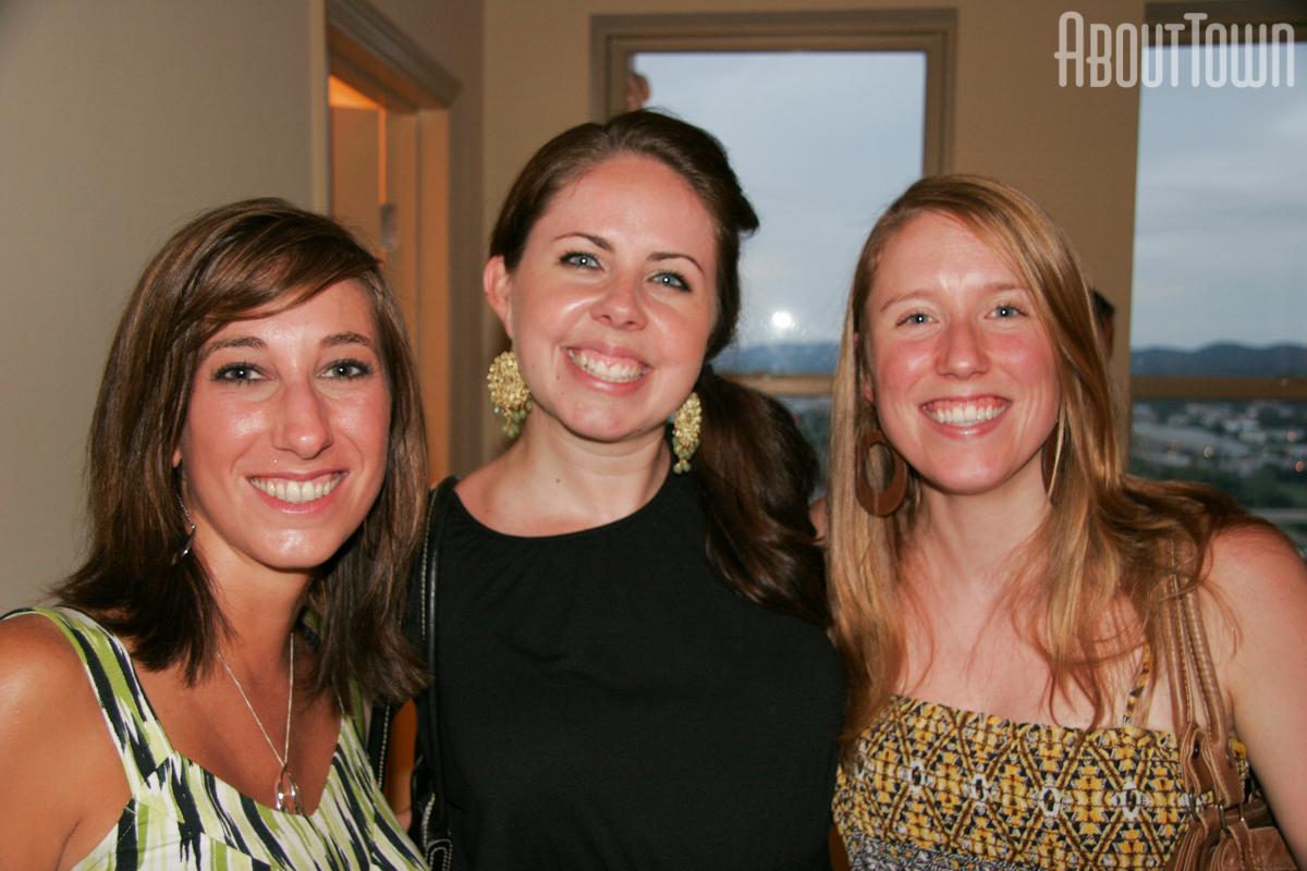 Amanda Stevens, Abbi Masters, Susan Hall