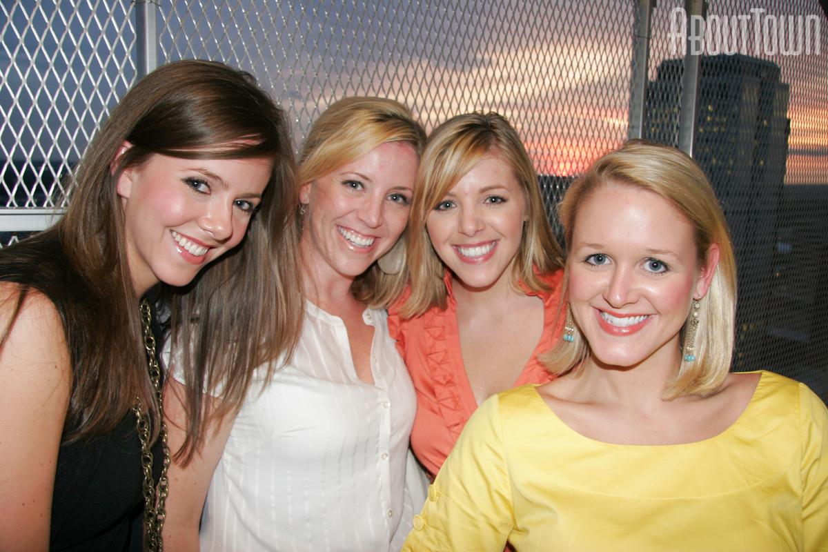 Lindsey Stewart, Krista Conlin, Jessica Knighten, Julie Ward