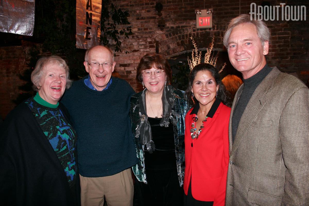Susie and Carden Johnston, Ann Miller, Lori and Don Siegelman