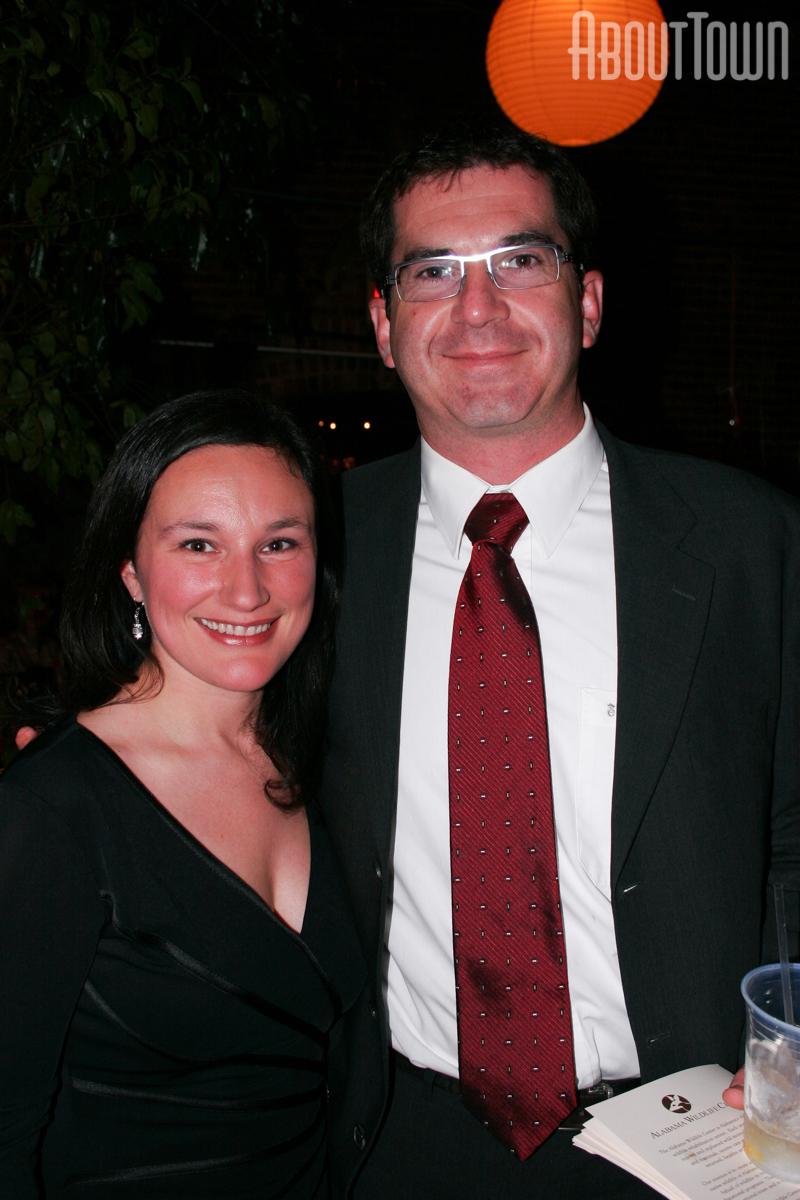Jennifer and Andy Burnett