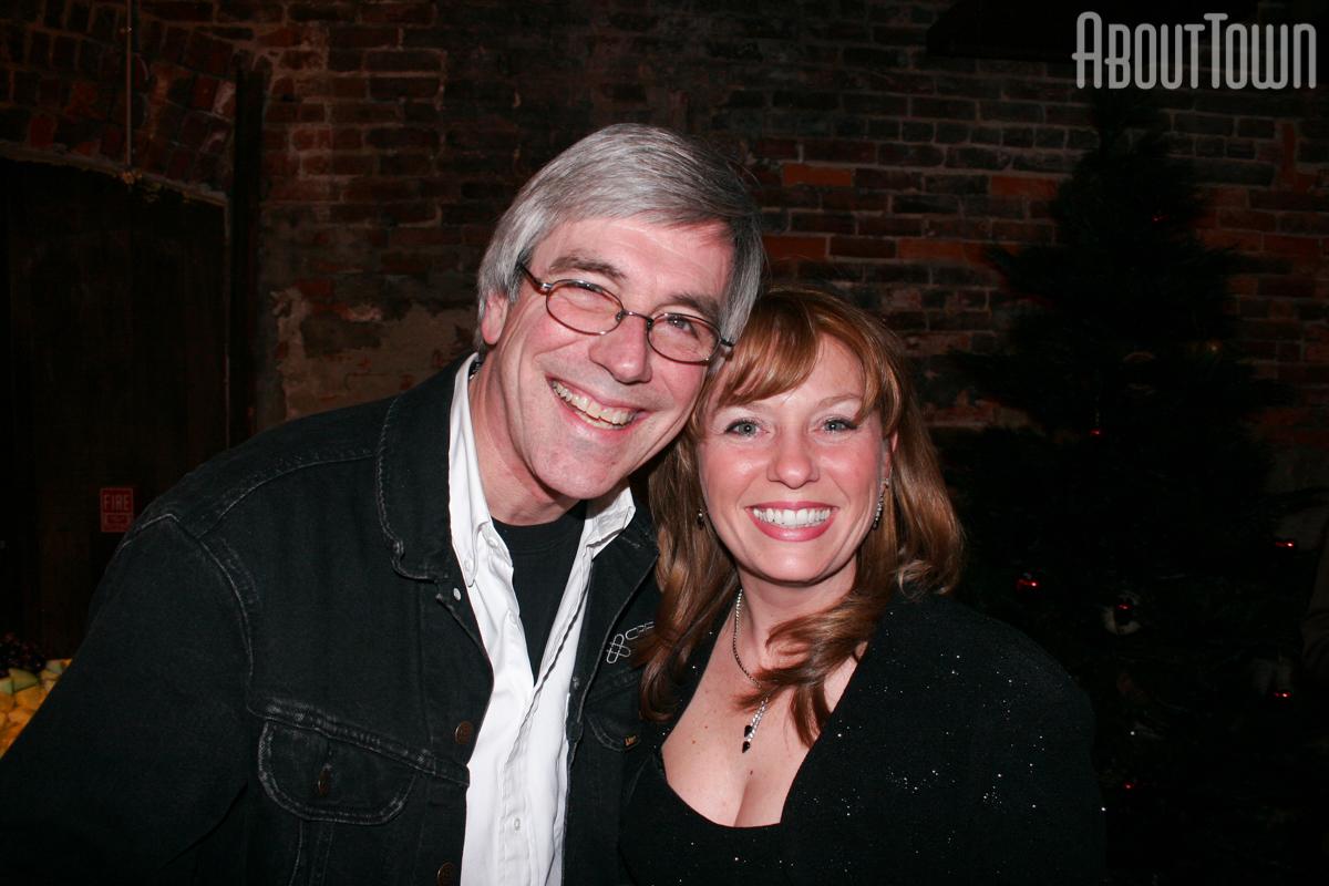 Steve Garrett, Becky Wilson