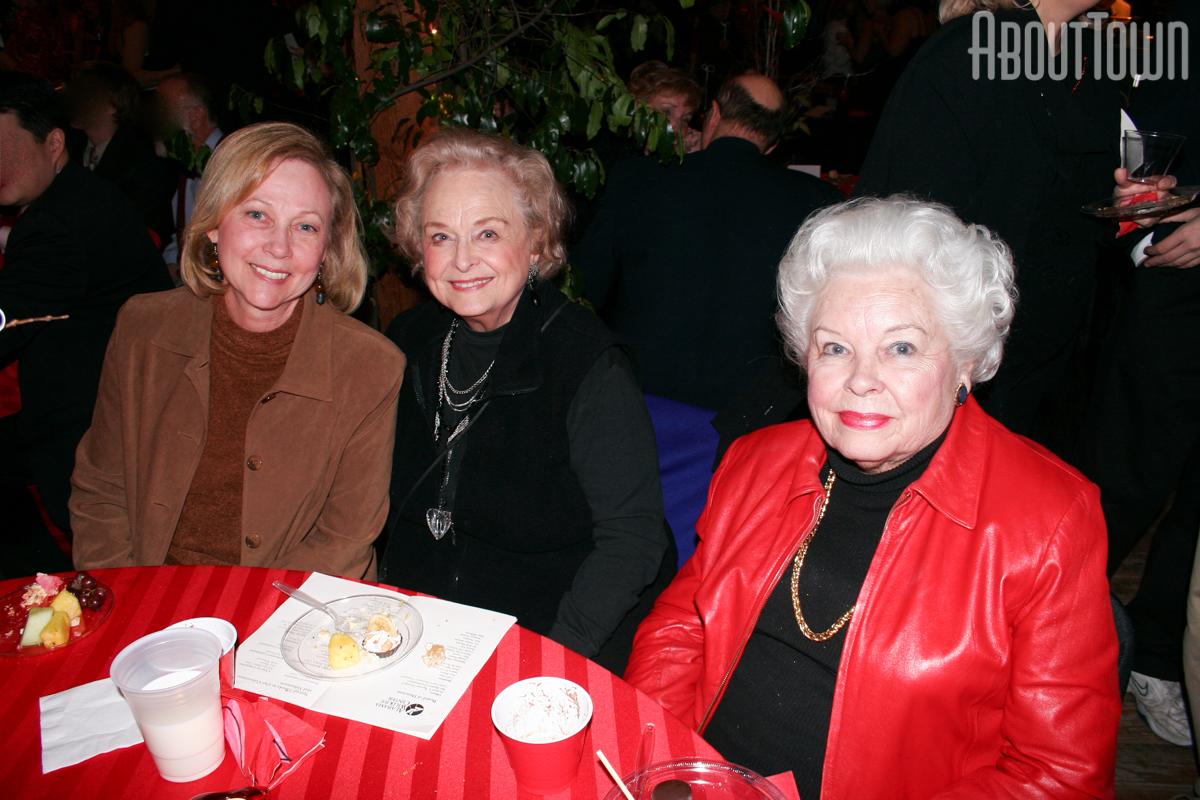 Sandy Pate, Joan Roman, Gillian Beavers