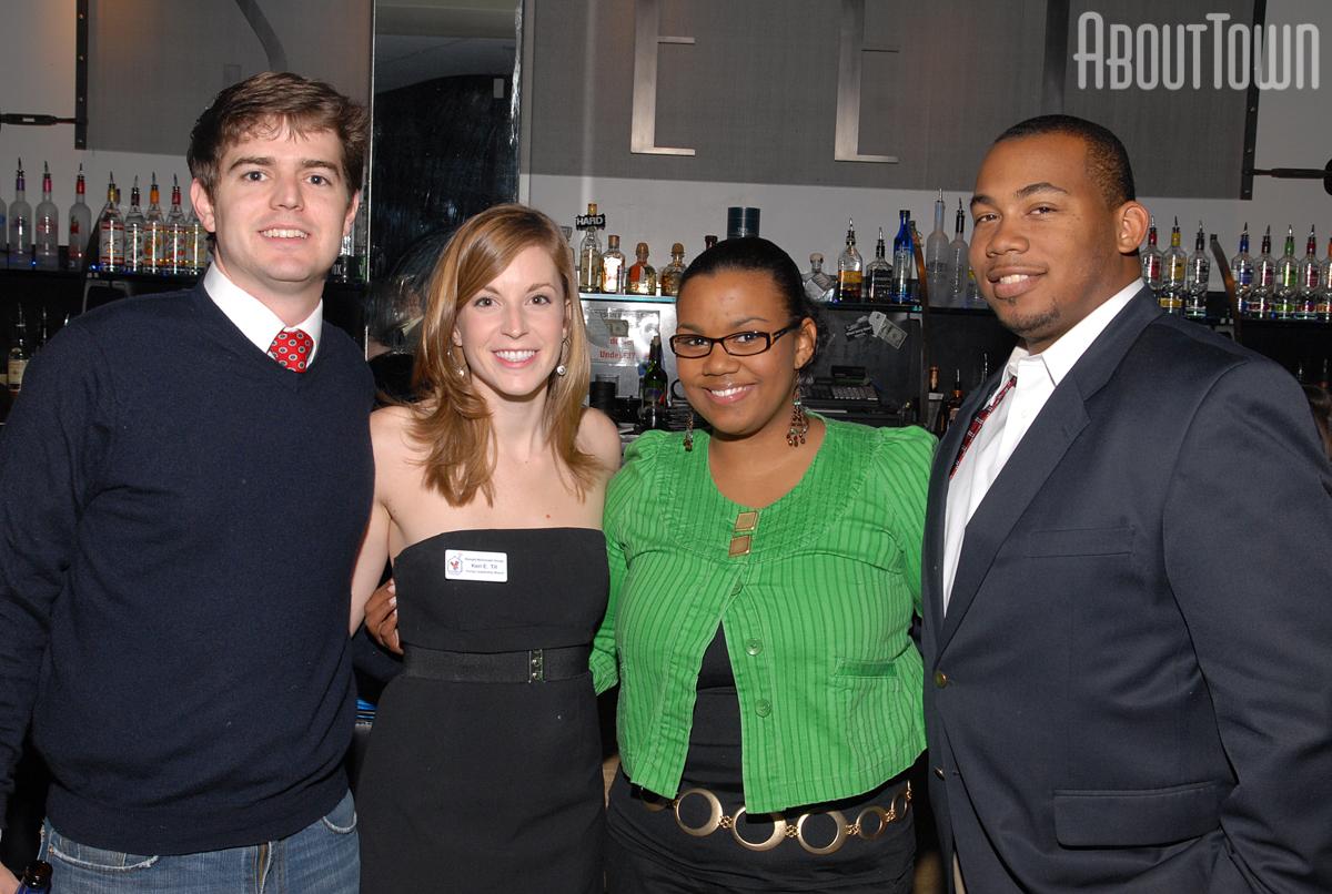 Ross Massey, Keri Till, Setara and Darius Foster