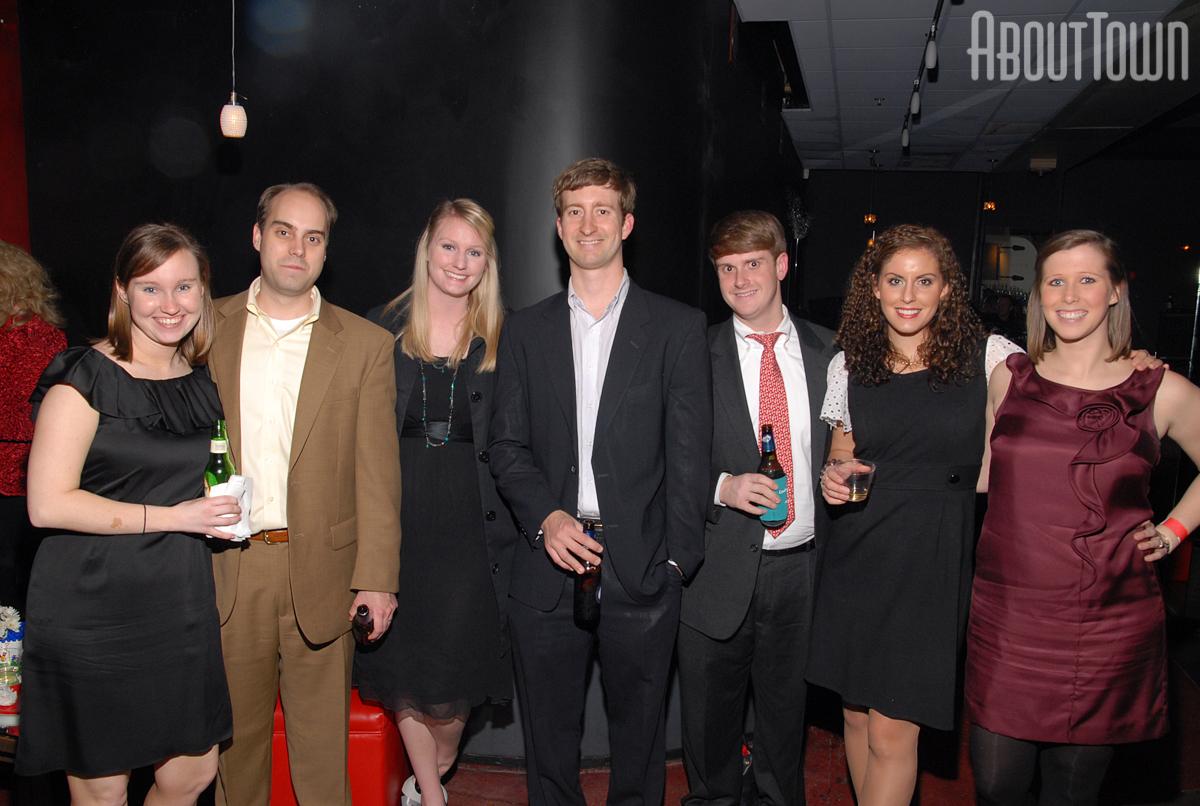 Caroline and Mark Pridgen, Kaitlin and Ed Rasinger, Cameron Snowden, Sarah Kate Sullivan, Meredith Jones